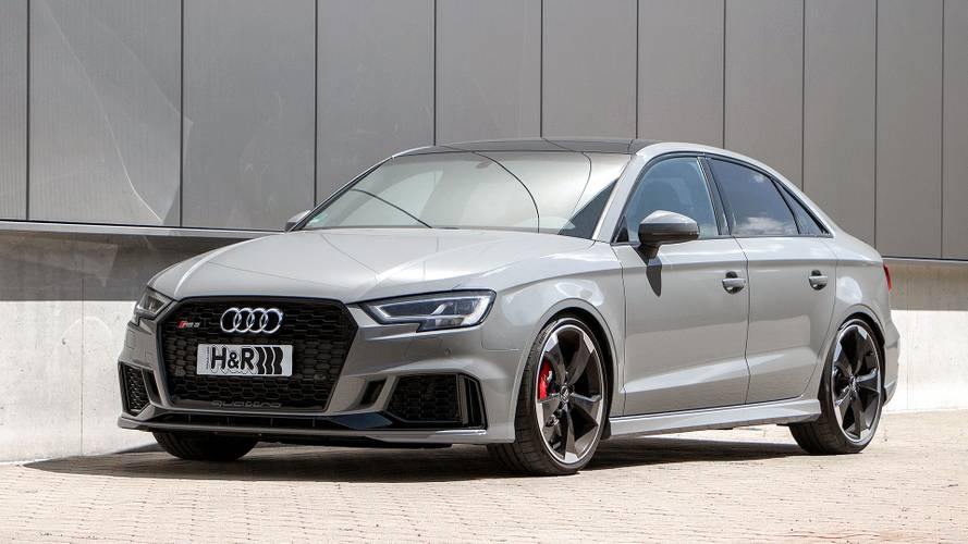 High Five: Audi RS 3 mit H&R-Gewindefedern