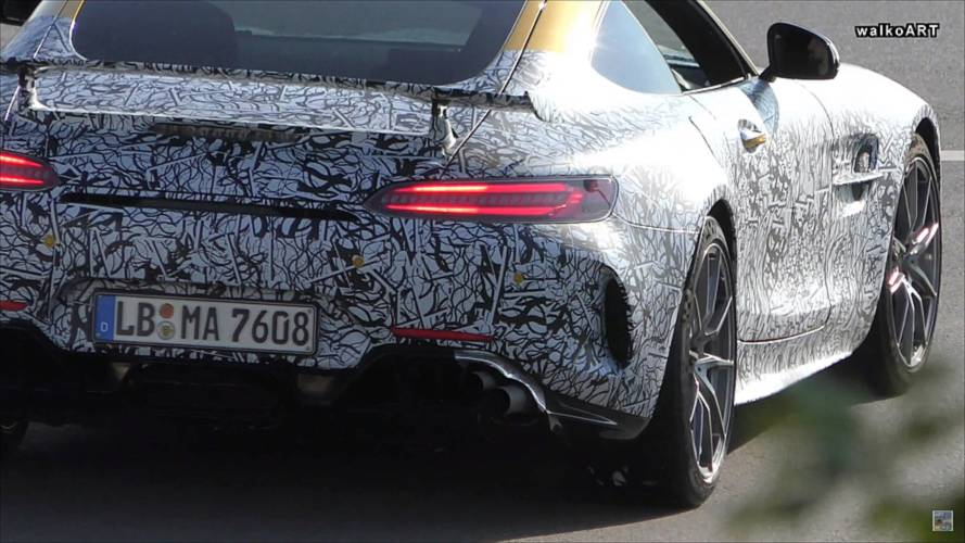Mercedes-AMG GT R Spied With Big Exhaust