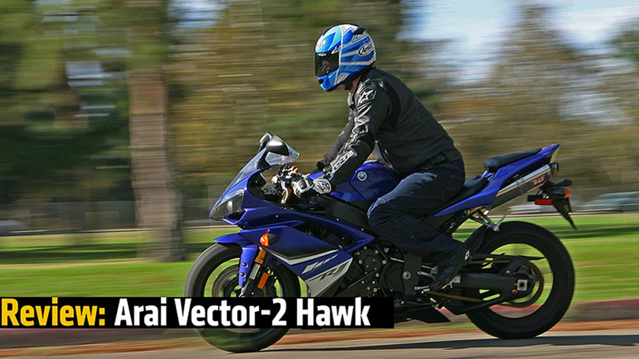 Review: Arai Vector 2 Hawk