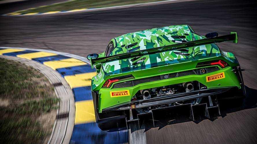 Lamborghini Huracan GT3 Evo aerodinamik güncellemelerle geldi
