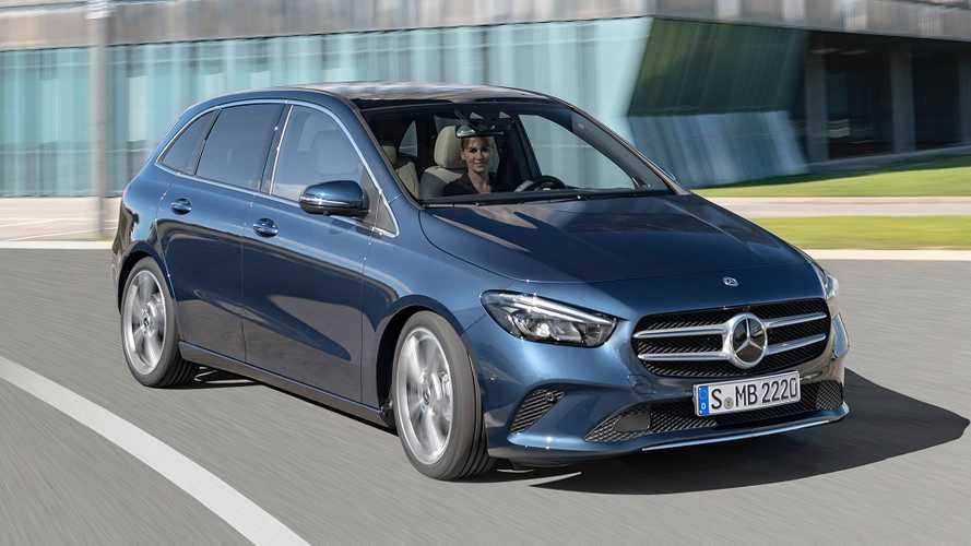Nuova Mercedes Classe B, alla monovolume piace lo sport