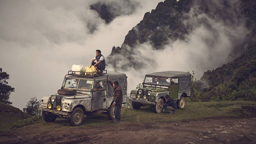 Classic Land Rovers still proving their worth in the Himalayas