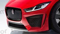 Jaguar I-Pace SVR Hayali Tasarımı (Render)