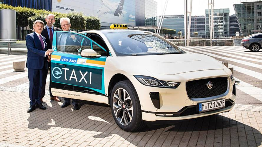 Jaguar I-Pace Targeting Mercedes Taxis In Germany