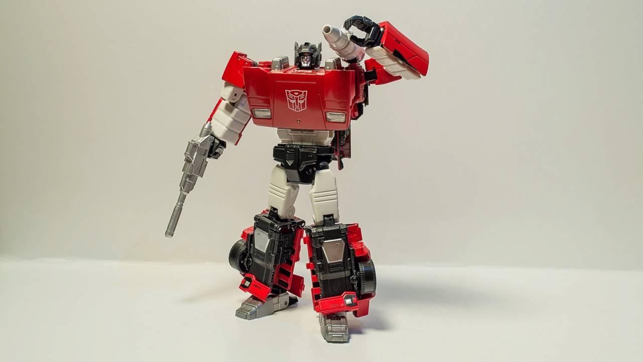 Sideswipe - Robot Mode