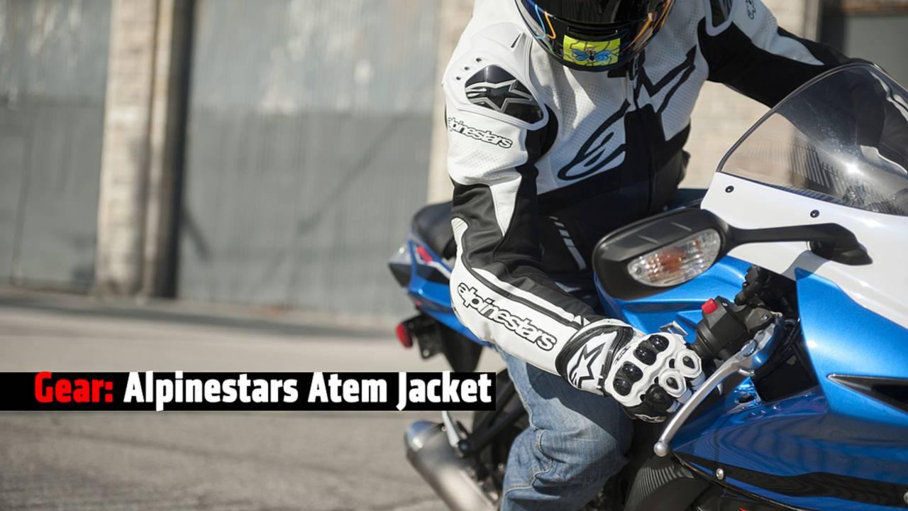 Gear: Alpinestars Atem leather jacket