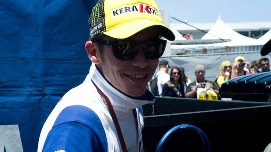 Video: Rossi rides Ducati
