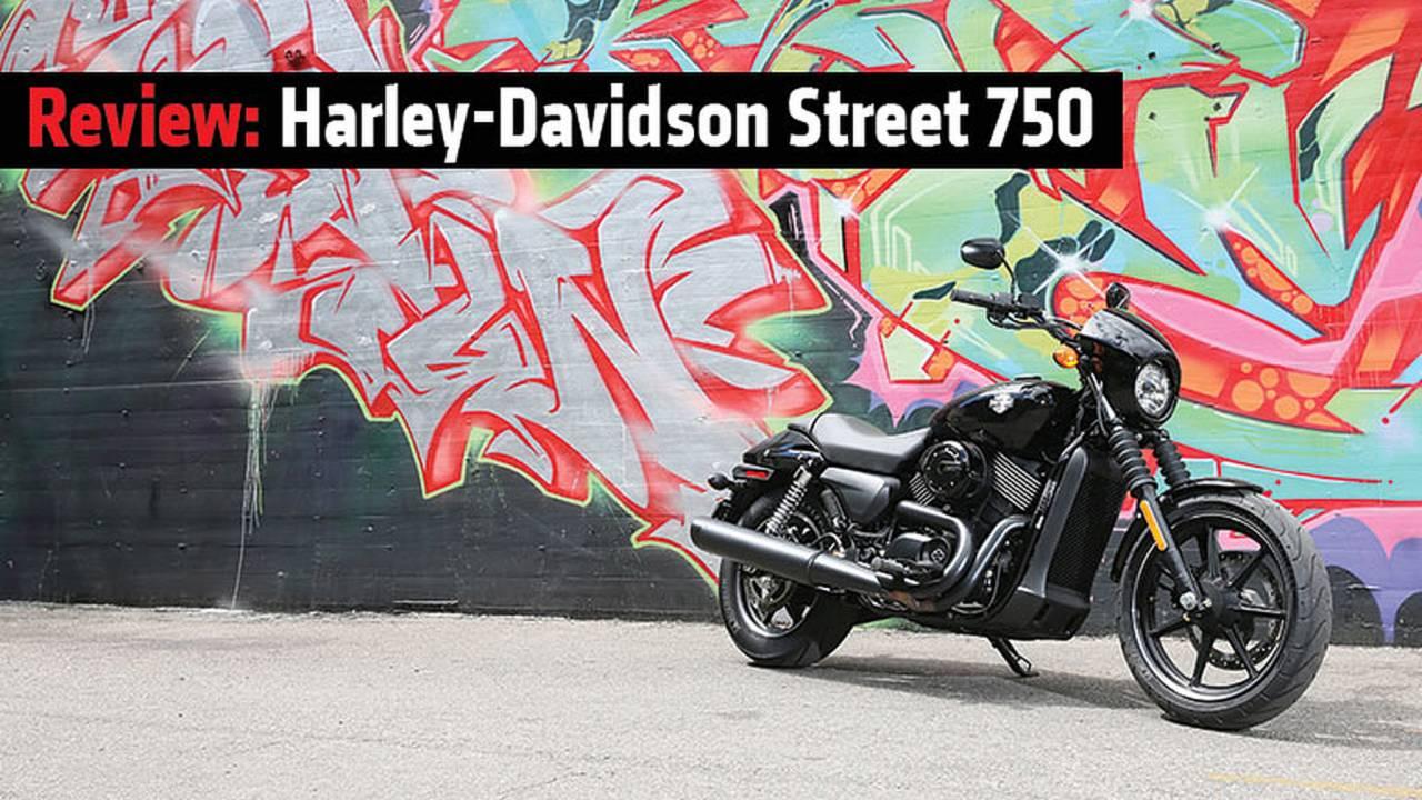 Review: 2015 Harley-Davidson Street 750 on