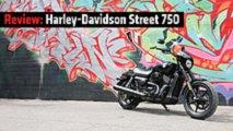 review 2015 harley davidson street 750