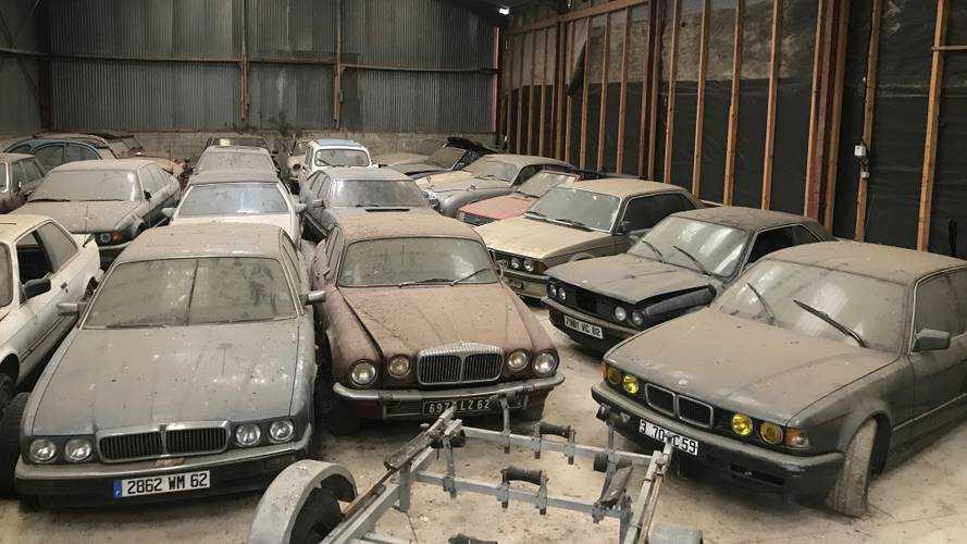 40 véhicules sortis de grange dans le Nord mis aux enchères