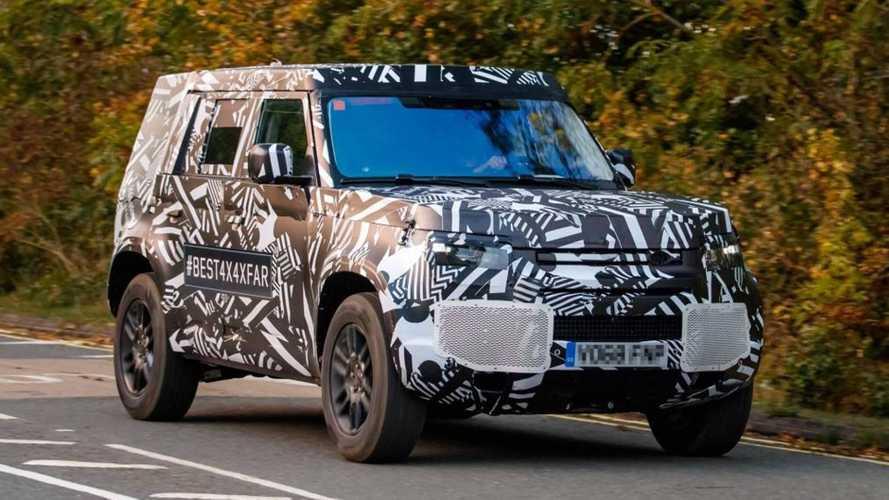 Novo Land Rover Defender terá versão 130 com espaço para até 8 pessoas
