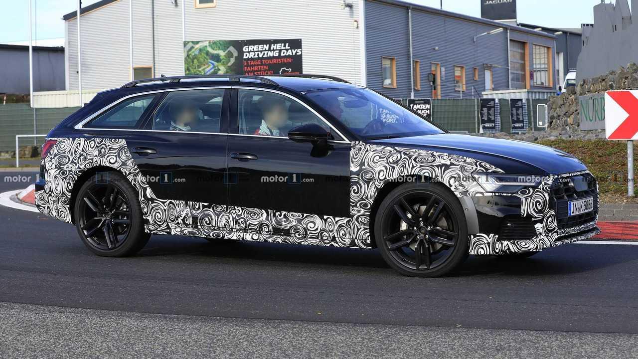 2020 Audi A6 Allroad new spy photo