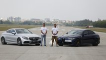 Mercedes-AMG C63S Coupe vs Alfa Romeo Giulia QV