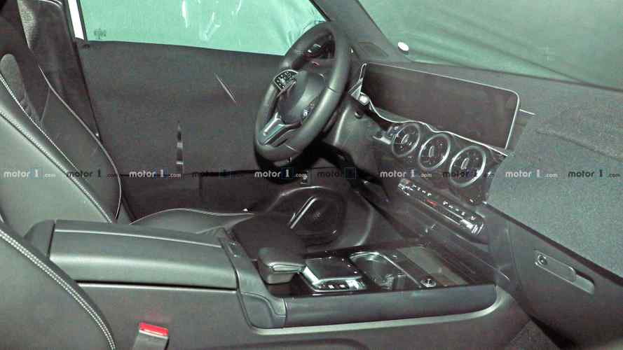 Mercedes GLB spied: First look inside the cabin