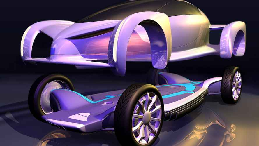 GM AUTOnomy, l'auto che va sullo skateboard