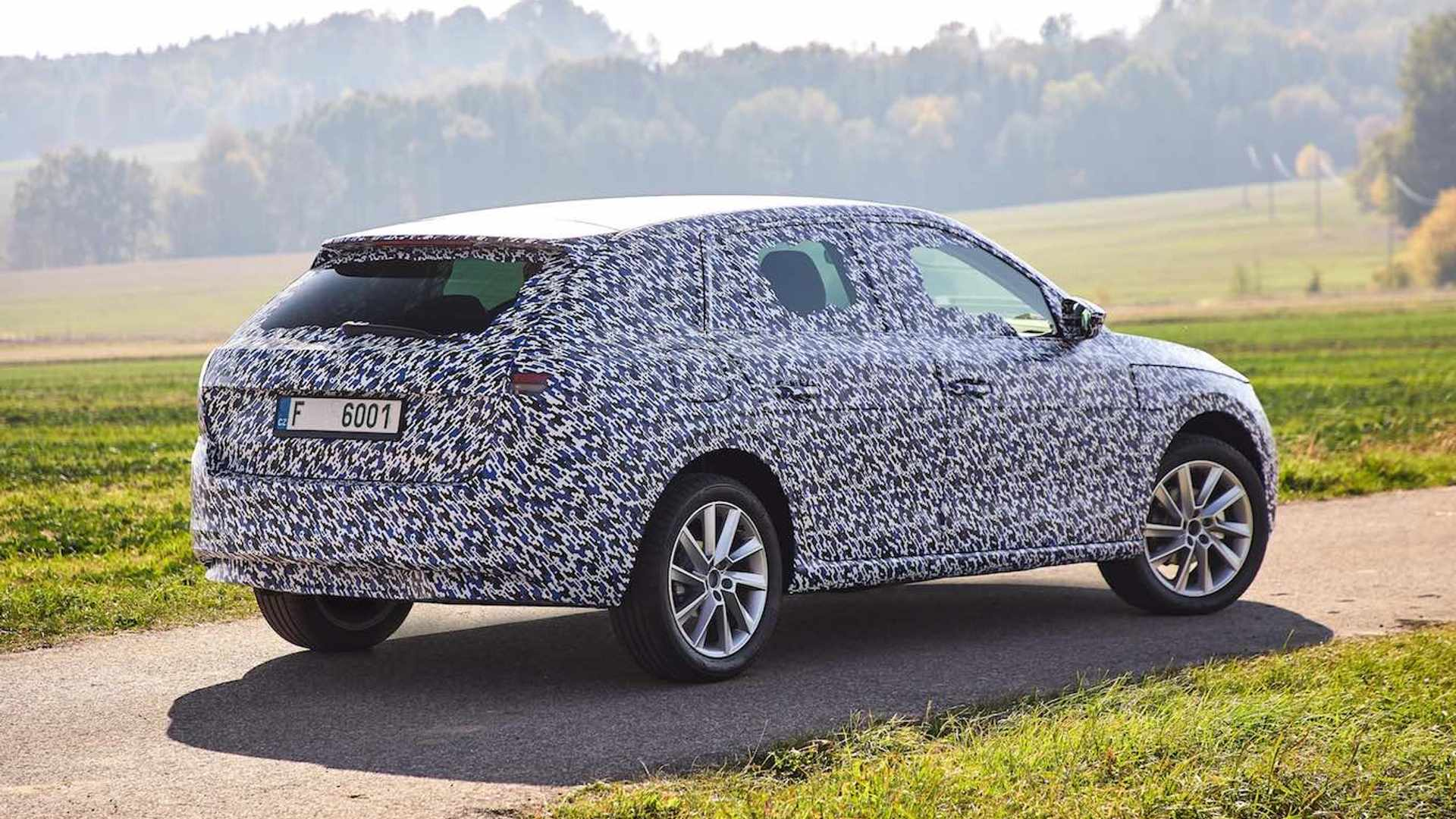 Skoda Scala First Details Emerge Official Spy Photos Released