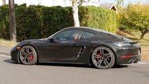 Porsche Cayman T Spy Shots