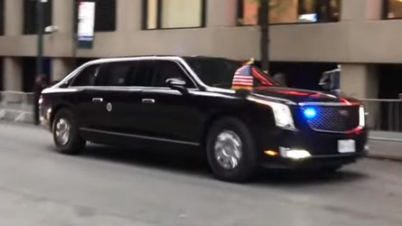 Watch The New Beast Take President Trump On One Of Its First Rides