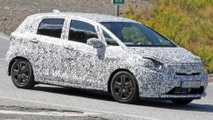 Honda Jazz and Fit Spy Shots