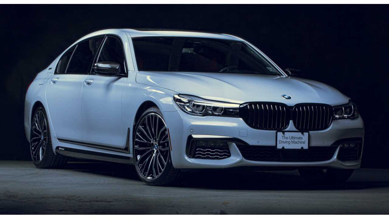 BMW 740e Decked Out With M Performance Parts Unveiled At SEMA