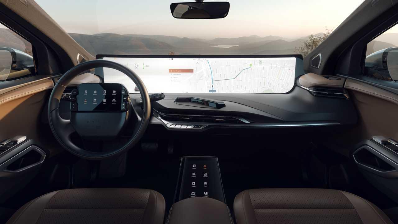 BYTON's M-Byte SUV production interior