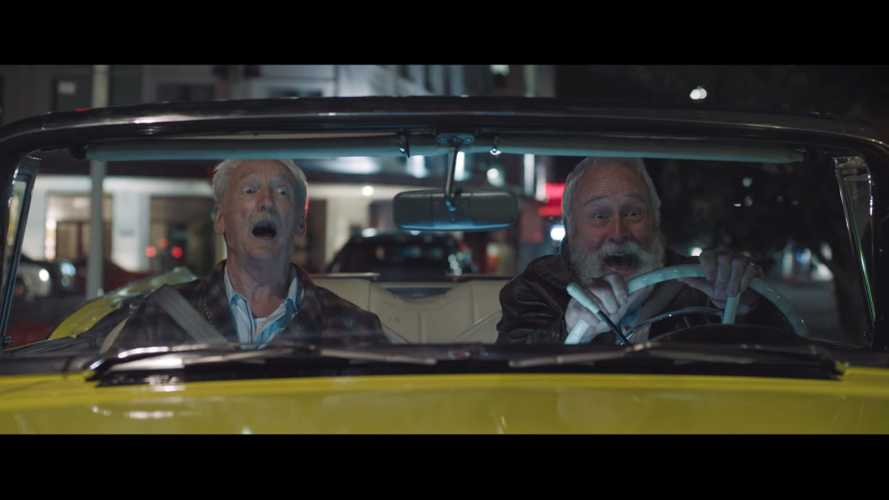 Watch This Electric Ford Sneak Geezers Out For A Night Of Fun