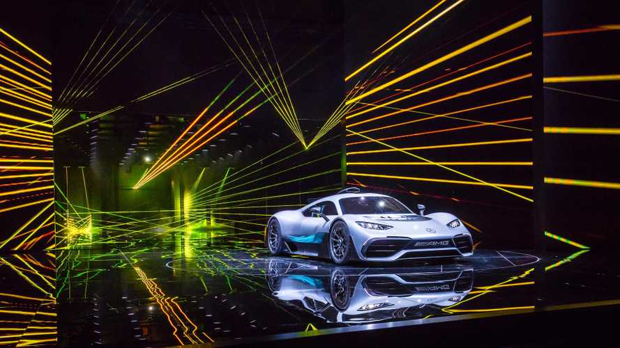 Mercedes-AMG Project One Bursts Onto Stage With 1,000 HP
