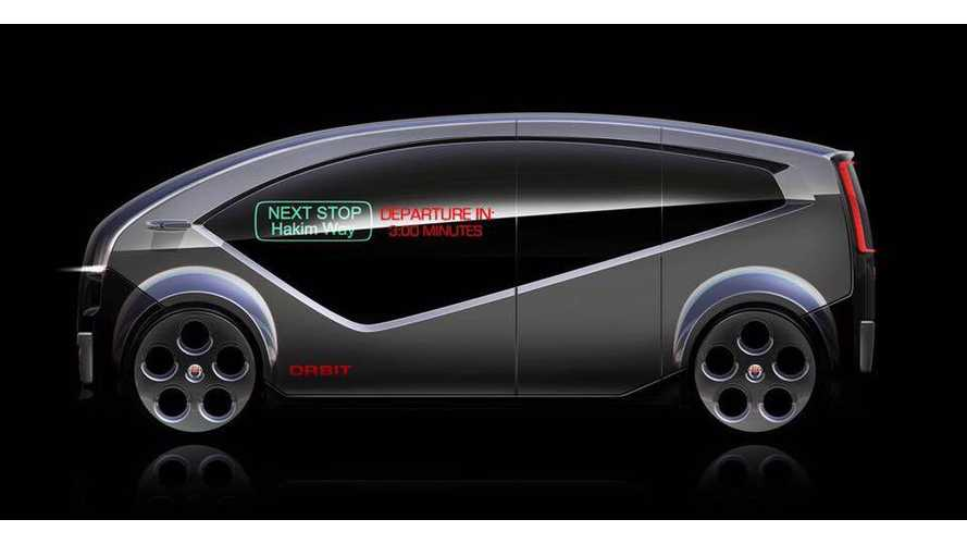 Fisker Orbit Electric Autonomous Shuttle To Launch Next Year