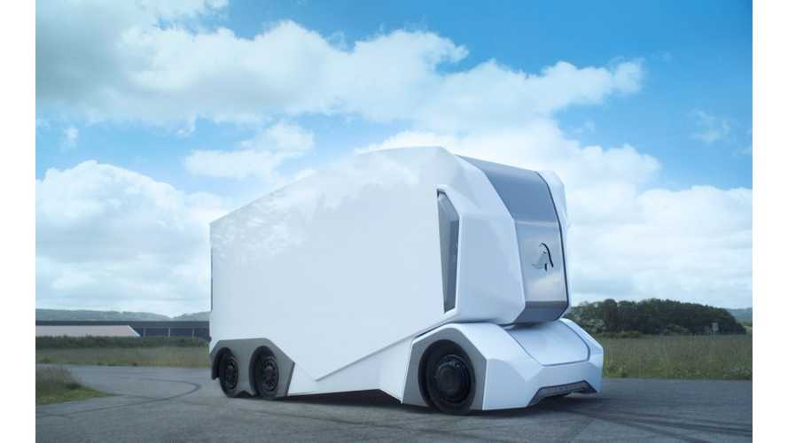 Einride T-pod Self-Driving Electric Truck From Sweden