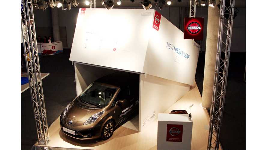 "Nissan ""Unboxes"" Its Latest Mobile Device At The GSMA Mobile World Congress"