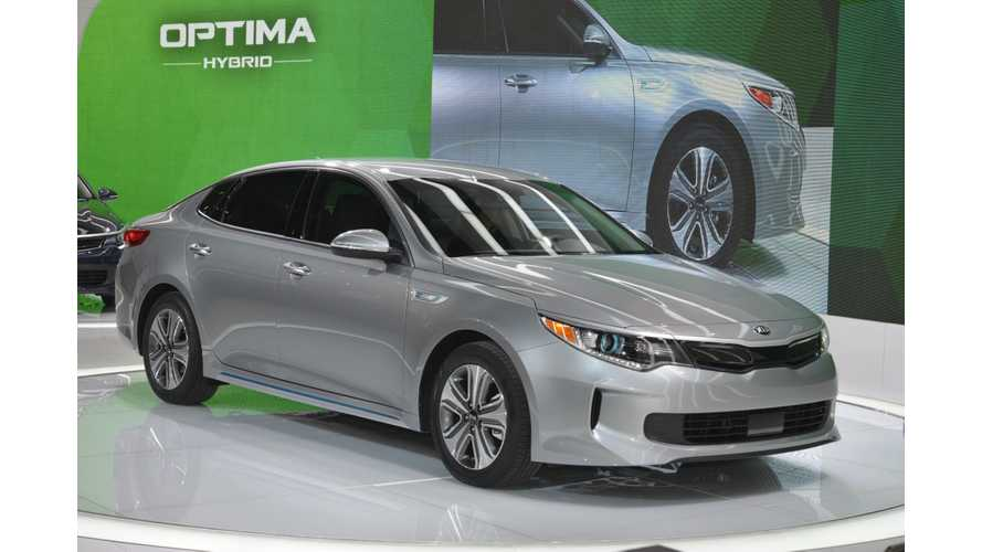 2017 Kia Optima Plug-In Hybrid At The Chicago Auto Show, On Sale This Fall