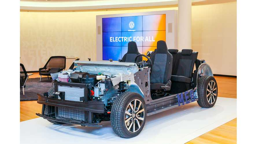 VW Open To Sharing MEB EV Platform With Other Automakers