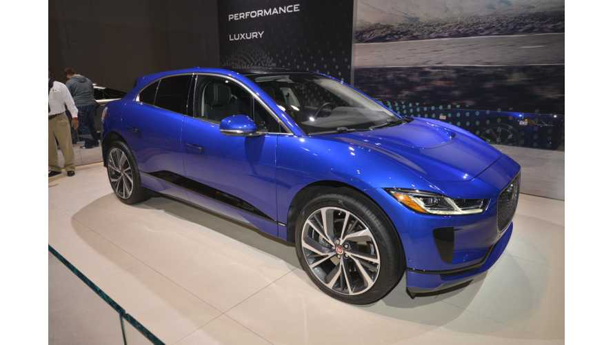 Jaguar Offers 0% APR On I-Pace: How Does It Compare To Tesla?