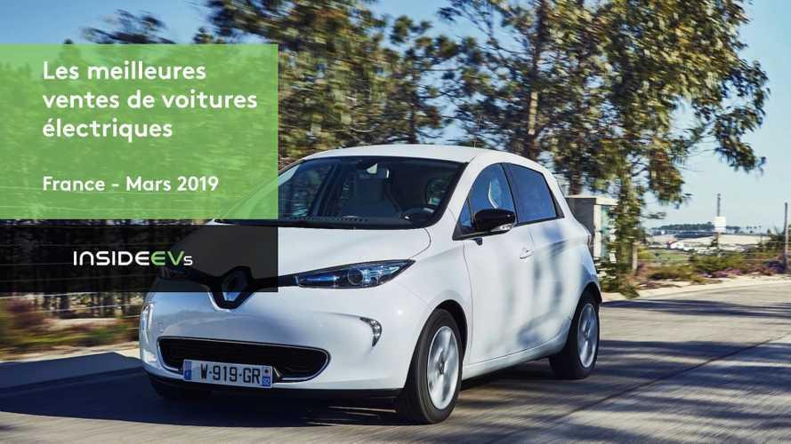 VIDÉO - Les 10 voitures électriques les plus vendues en mars 2019