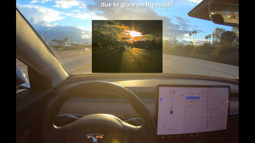 How Does Tesla Autopilot Fare Driving Directly Into The Sun? Video
