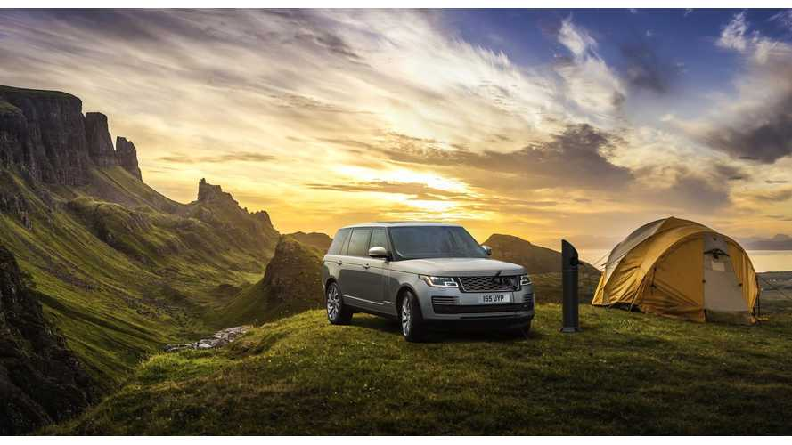 Land Rover Installs World's Most Remote Charging Point