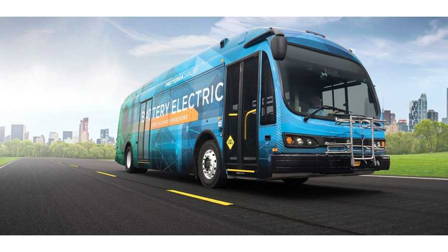 Proterra Catalyst E2 35-Foot 440 kWh Version Completes Altoona Testing