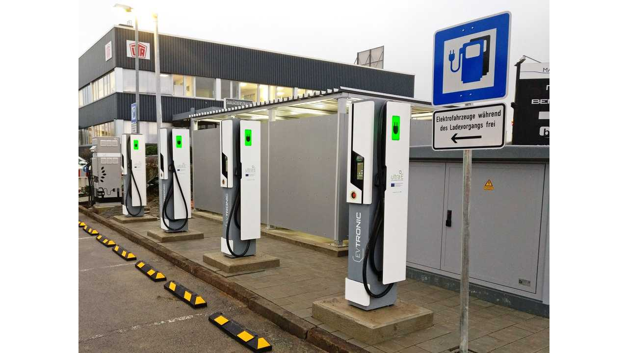 Allego: Europe's first public ultra-fast charging station (4x 175 kW) now operational in Germany