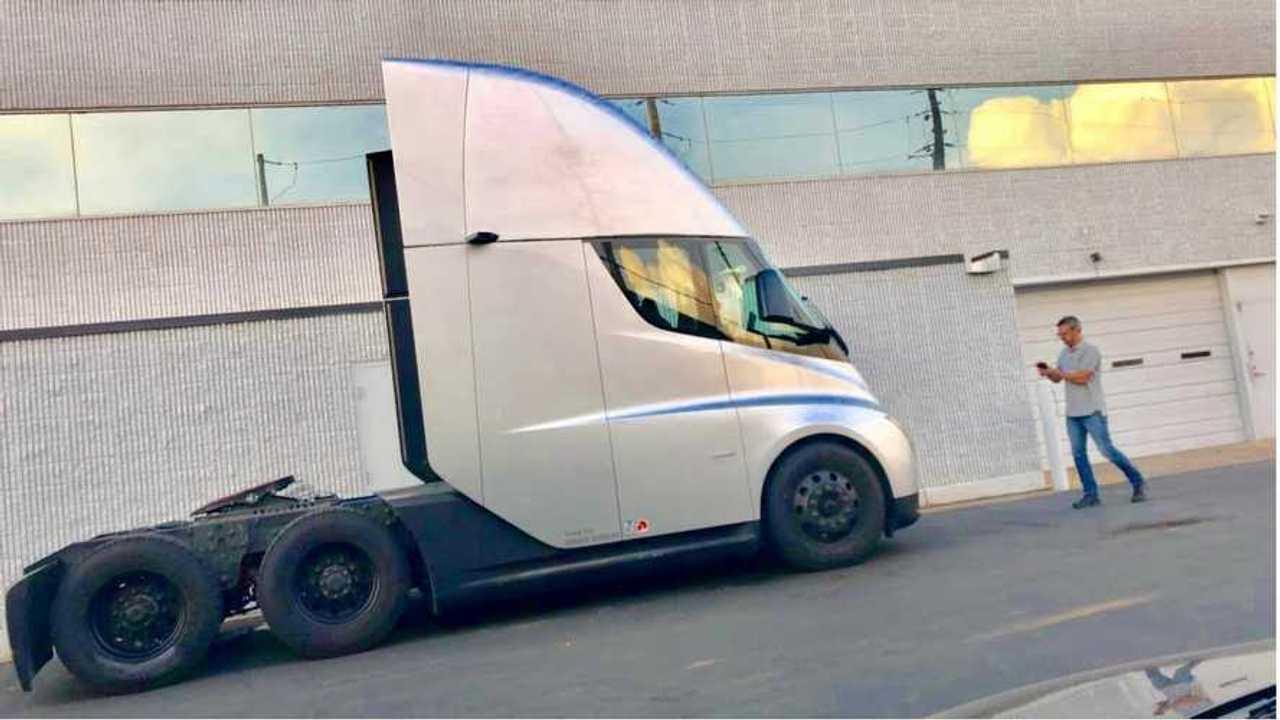 Tesla Semi Spied Inside & Out: Plus See Its Motors