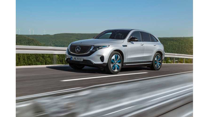 Mercedes EQC To Be Followed By 9 M-B Electric Cars In 4 Years