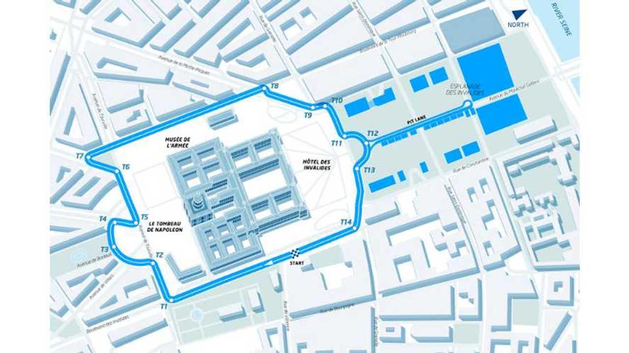 Track design for Paris ePrix revealed