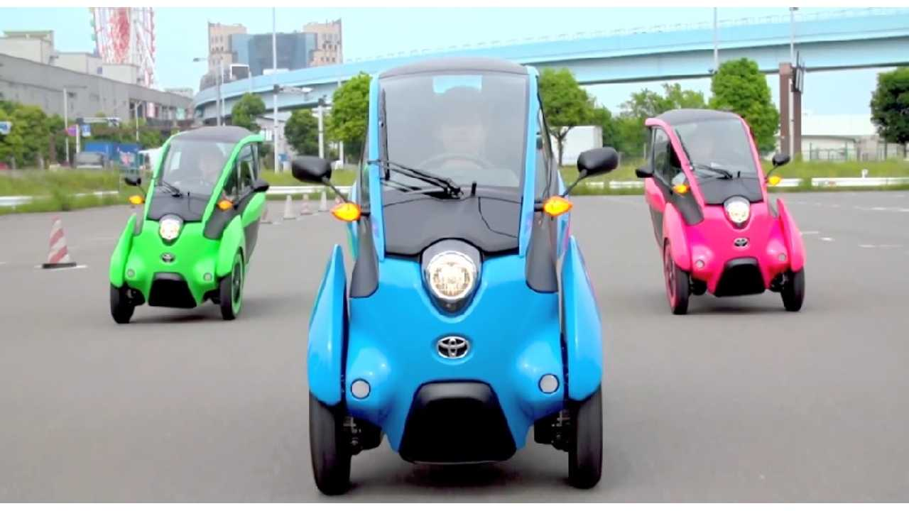 Toyota Readies For Possible U.S. Launch Of i-Road With i-Rodeo Test Drives In Texas