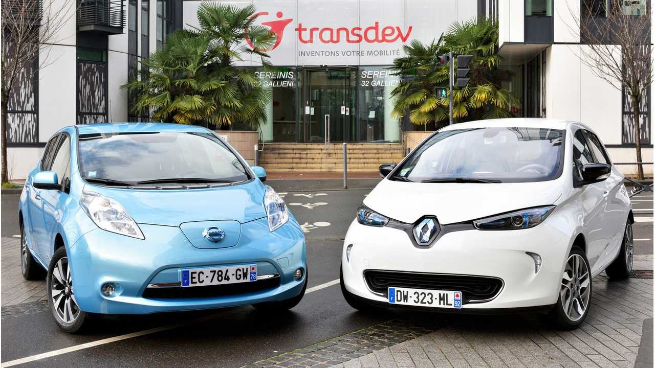 Nissan LEAF and Renault ZOE - Renault predicts that overall cost-to-own for electric cars will equal that of ICE cars by the early 2020s.