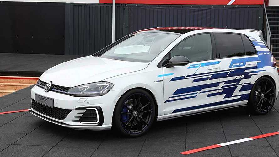 Souped Up Volkswagen Golf GTE Concept Debuts