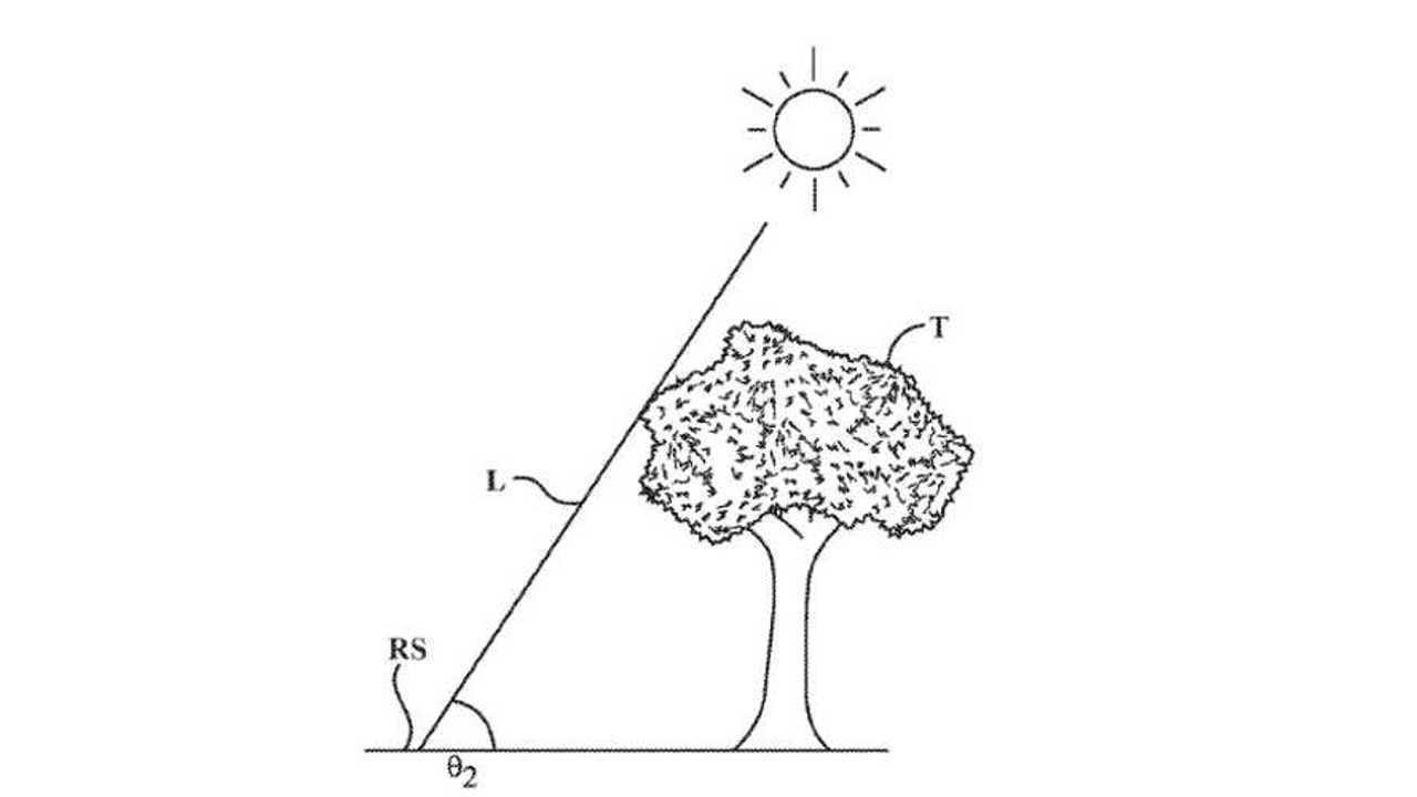 Toyota solar nav patent