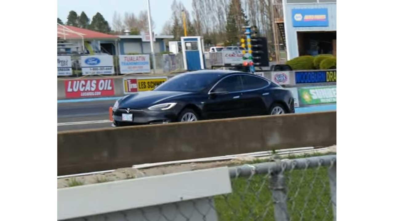 And Just Like That:  Tesla Model S P100D 1/4 Mile Record Broken With 10.638 Second Run