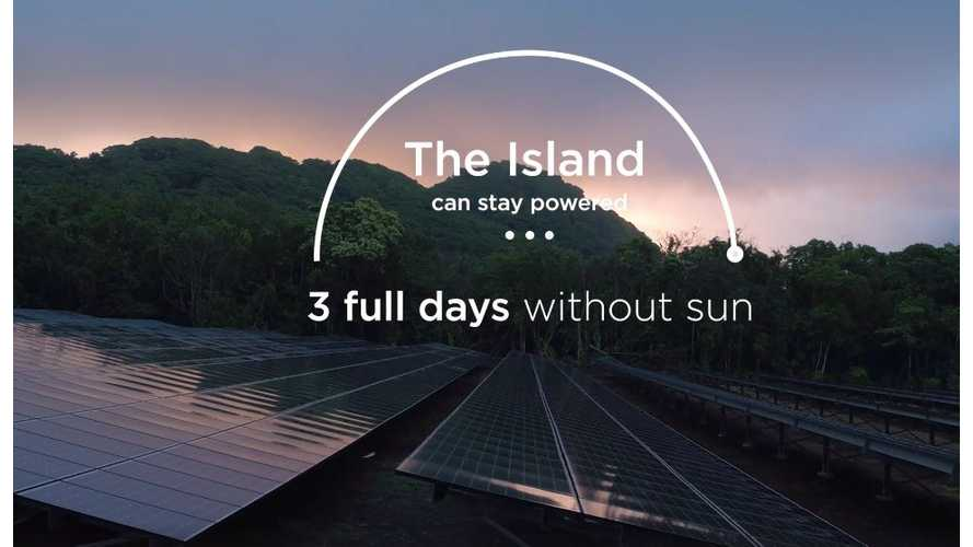 Island In The Sun: T'au Island's Microgrid Converted To Solar And Tesla Powerpacks - Video