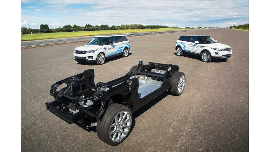 Jaguar Reveals Mild Hybrid, PHEV & BEV Research Demonstrators