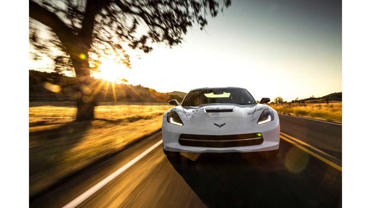General Motors Trademarks E-Ray For Possible Future Electric Corvette