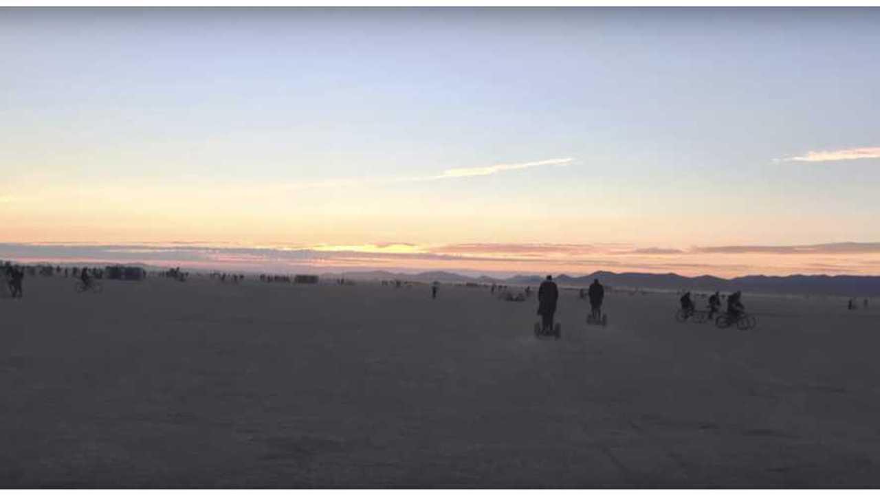 Electric Bikes Of Burning Man 2015 - Video